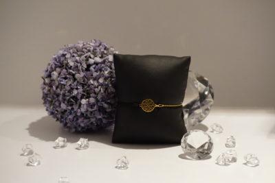 Armkette-Armband Kombi Lebensbaum Gold