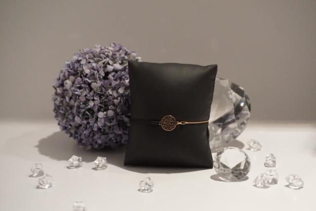 Armkette-Armband Kombi Lebensbaum Rosègold