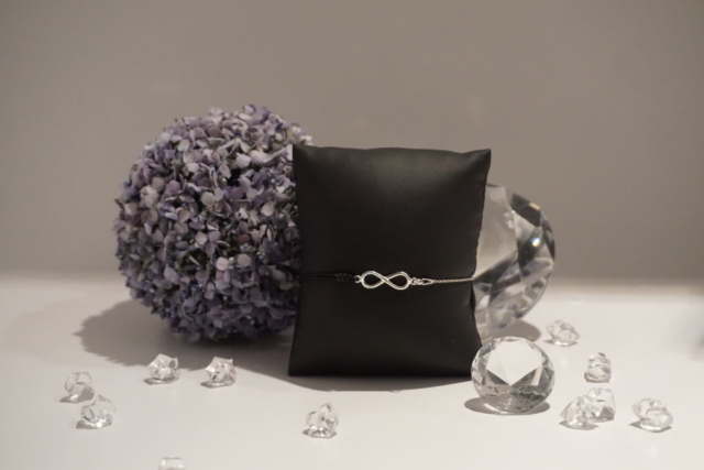 Armkette-Armband Kombi Infinity Silber