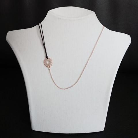 Halskette Halsband Kombination