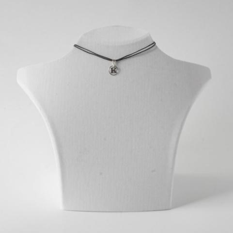 Buchstabenkette K Silber