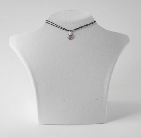 Buchstabenkette R Silber
