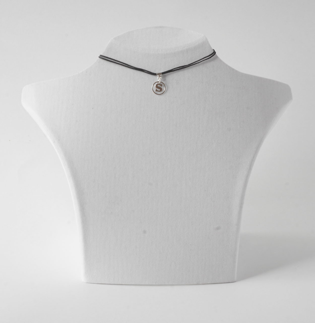 Buchstabenkette S Silber